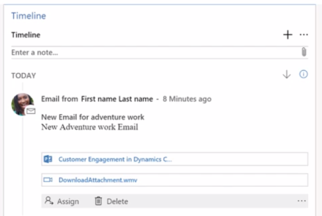 Activity Timelines in Dynamics 365 - Microsoft Dynamics CRM