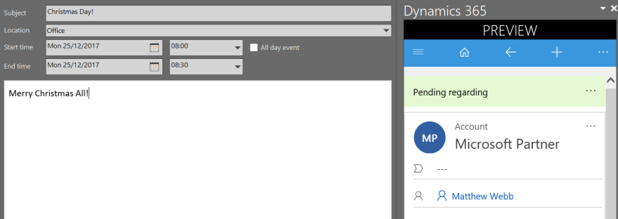 Unified User Interface – Matthew Webb's Dynamics 365 Blog