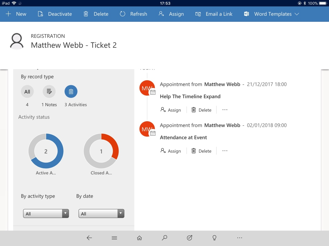 Mobile – Matthew Webb's Dynamics 365 Blog